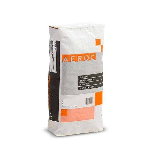 Клей для газоблоков Aeroc