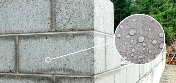 Гидрофобизатор, газоблок